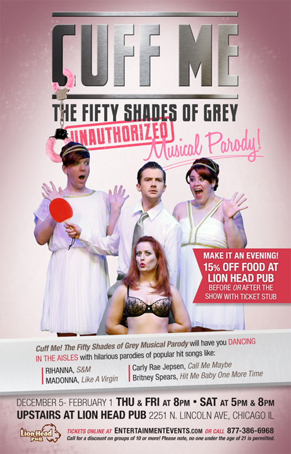 Cuff Me - a Fifty Shades of Grey Musical Parody